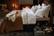 Quilted Cotton Velvet Bedspread 160x240 Dark beige