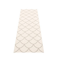 Kotte Fossil Grey/White 70 x 225 cm