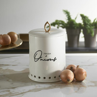 Fresh Onions Storage Jar