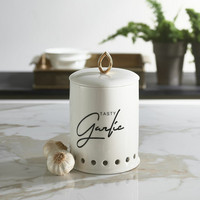 Tasty Garlic Storage Jar