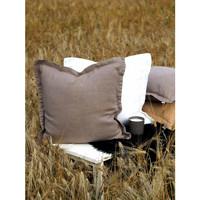 Arona pellava tyynynpäällinen koristereunuksella mink 45x45cm