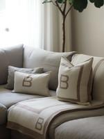 Balmuir B-logo tyynynpäällinen 50 x 50 cm