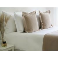 Cassia tyynynpäällinen taupe 50 x 50 cm