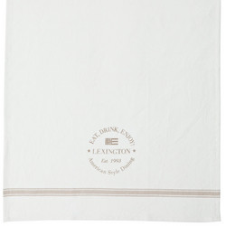 Logo Kitchen Towel Beige
