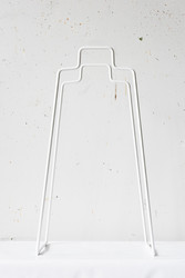 Helsinki Paper bag holder White
