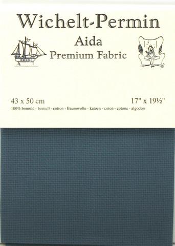 Aida kangas sininen