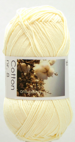 Cotton nr. 8  Väri 201