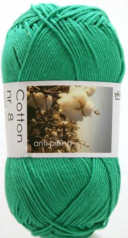 Cotton nr. 8  Väri 744