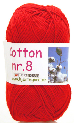 Cotton nr. 8  Väri 4500