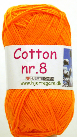 Cotton nr. 8  Väri 3255