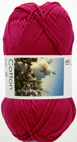 Cotton nr. 8  Väri 4658