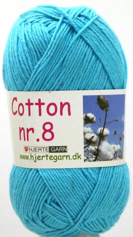 Cotton nr. 8  Väri 709