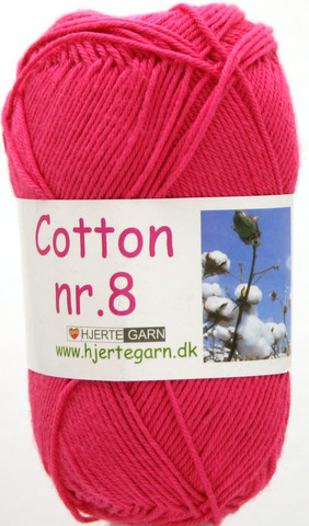 Cotton nr. 8  Väri 434