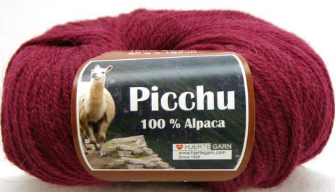 Hjerte Garn 100% Alpaca Karpalon punainen