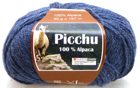 Hjerte Garn 100% Alpaca Sininen