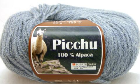 Hjerte Garn 100% Alpaca Vaaleansininen