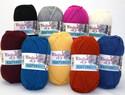 Kaupunkilangan Kivijalka lanka on Turkissa valmistettu miellyttävän pehmeä ja kestävä sukkalanka.
