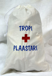 'Tropi ja plaastari'- Lääkepussukka