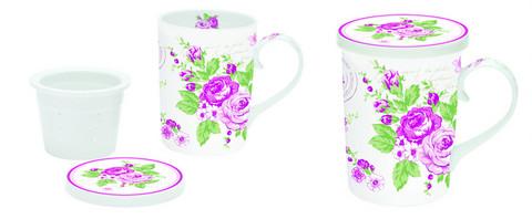 Ruususarja, teekuppi teesihdillä