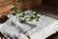 Pellava vohveli kylpypyyhe - iso