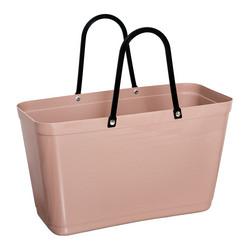 Hinza laukku - Green plastic Large Nougat