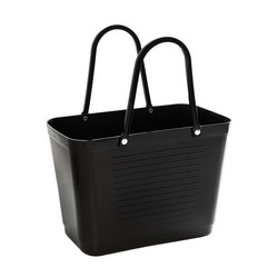 Hinza laukku - Green plastic Small Black