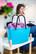Hinza laukku - Small Turquoise
