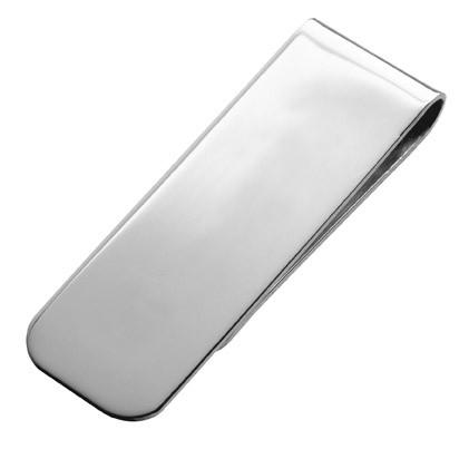 Carssin CLIP/A/S sileä hopeinen raharenki