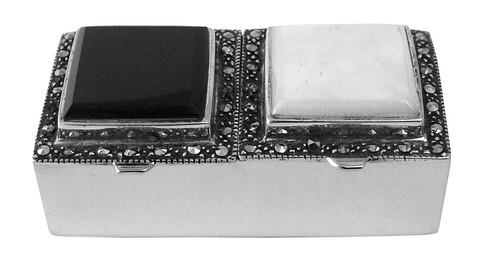 Art Deco PB235 pilleripurkki 2-osainen