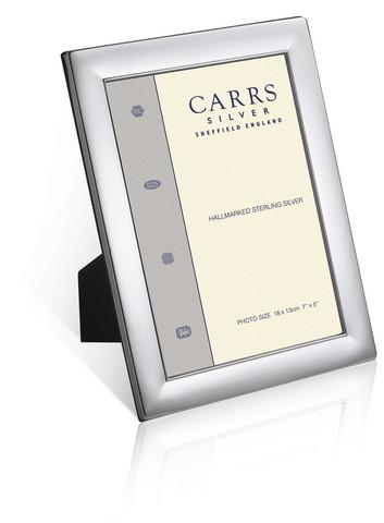 Carrs WP4-SP sileä 18x13 hopeoitu valokuvakehys