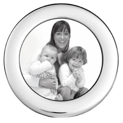 Carrs PC2 hopeinen sileä valokuvakehys