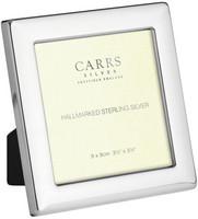 Carrs PS2 9x9 sileä hopeinen valokuvakehys