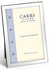 Carrs FNPR2/W sileä 9x6 hopeinen valokuvakehys