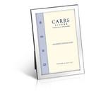 Carrs FNPRF3/W sileä 15x10 hopeinen valokuvakehys