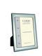 Carrs FR076/W 20x15 hopeinen valokuvakehys helmireunalla