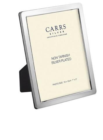Carrs NPR3 sileä 13x9 hopeinen valokuvakehys