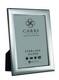 Carrs FR293/L sileä 13x9 hopeinen valokuvakehys