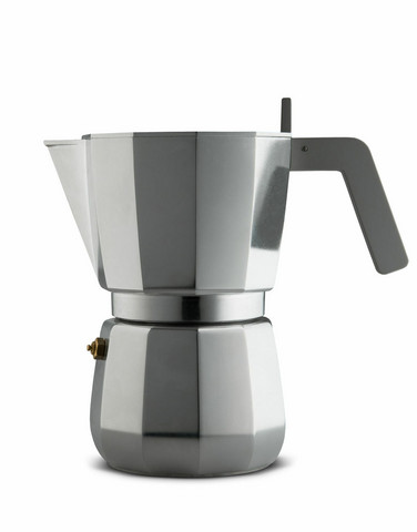 Alessi DC06/9 FM Moka espressopannu myös induktioliedelle