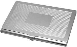 Hopeinen GT4 käyntikorttikotelo