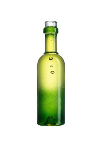 Kosta Boda vihreä Celebrate viinipullo