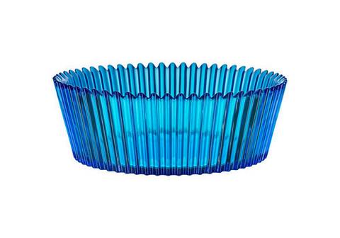 Kosta Boda Cup Cake sininen kulho