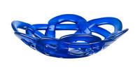 Kosta Boda sininen Basket kulho