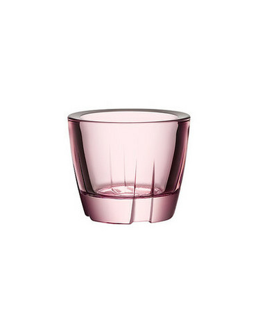 Kosta Boda vaalea roosa Bruk lasituikku
