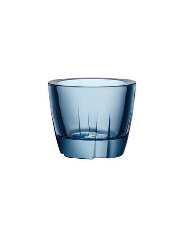 Kosta Boda veden sininen Bruk tuikku