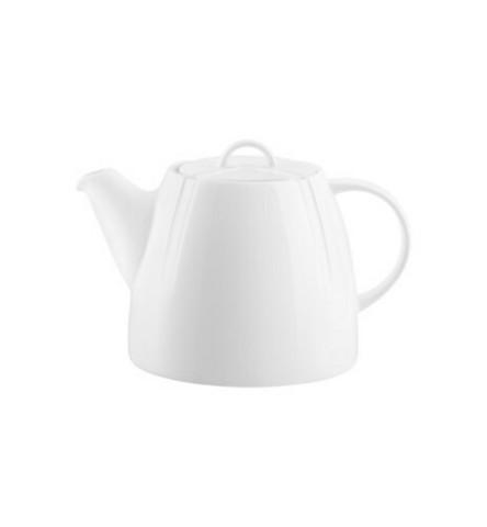 Kosta Boda valkoinen Bruk teekannu