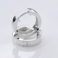 SAC Silver malliston hopeiset 810 korvarenkaat