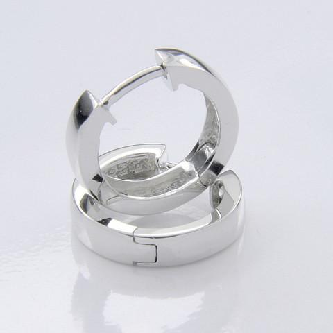 SAC Silver malliston hopeiset 802 korvarenkaat