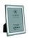 Carrs FR064/W sileä 15x10 hopeinen valokuvakehys mahonki taustalla