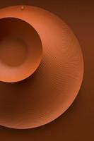 Alessi PU07 BR ruskea Veneer vati