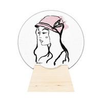 Kosta Boda 7091412 Lady Hat lasiveistos